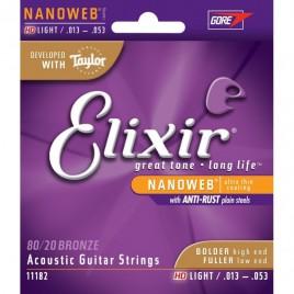 Elixir Acoustic Guitar NanoWeb Taylor 11182