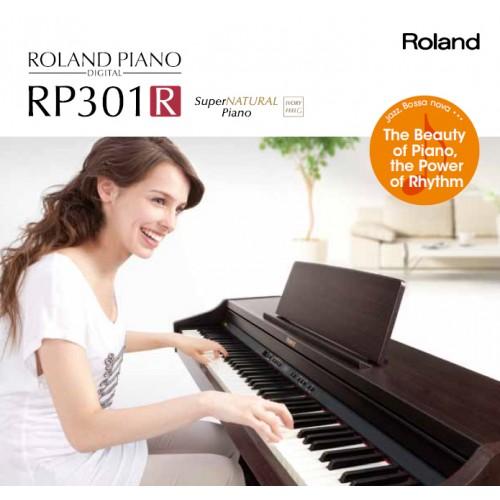 Hướng dẫn sử dụng đàn piano điện Roland RP-301R