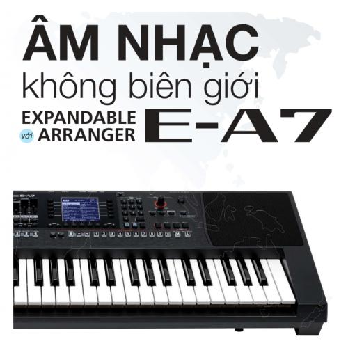 Hướng dẫn sử dụng chi tiết đàn organ Roland E-A7