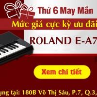 Thứ 6 may mắn với mức giá cực hấp dẫn dành cho Roland E-A7
