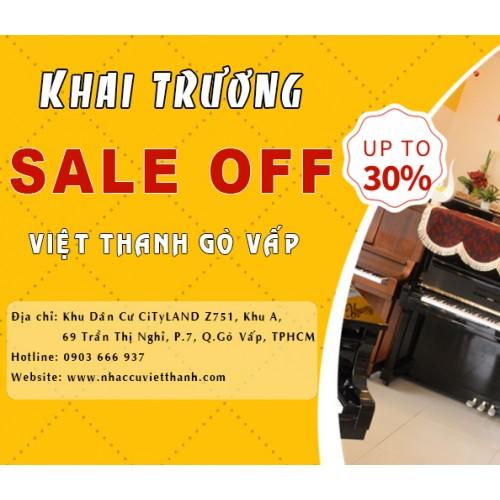 Khuyến mãi lớn khai trương chi nhánh Việt Thanh Gò Vấp