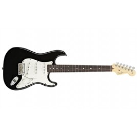 American Standard Stratocaster Guitar - Maple Fingerboard - Black