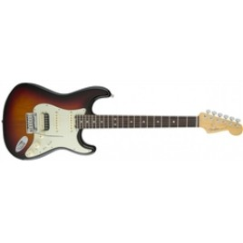 Fender American Elite HSS Shawbucker, Rosewood Fingerboard, 3-Color Sunburst
