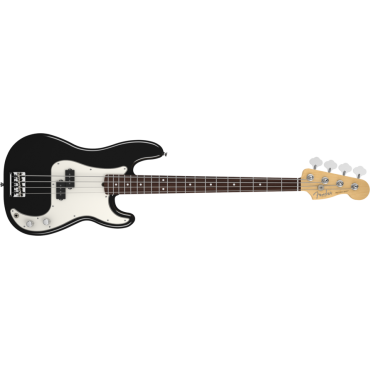American Standard Precision Bass Rosewood Fingerboard Black