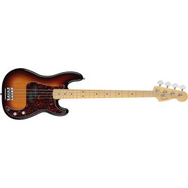 American Standard Precision Bass, Maple Fingerboard, 3-Color Sunburst. Codice prodotto
