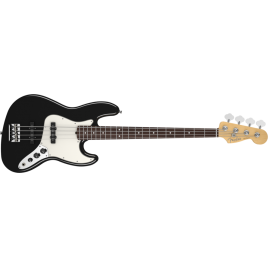Fender American Standard Jazz Bass Rosewood in Black w/ Case