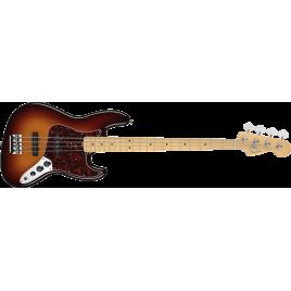 Fender  American Standard Jazz Bass®, Maple Fingerboard, 3-Color Sunburst