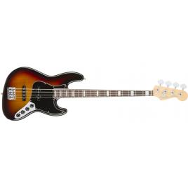 Fender American Elite Jazz Bass Rosewood Fingerboard - 3-Tone Sunburst