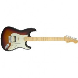 American Elite Stratocaster® HSS Shawbucker, Maple Fingerboard, 3-Color Sunburst