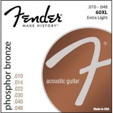 Fender Phosphor Bronze Acoustic Guitar Strings