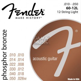 Fender Phosphor Bronze Acoustic Guitar
