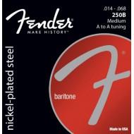 Fender 250B Nickel Plated Steel Baritone Guitar Strings