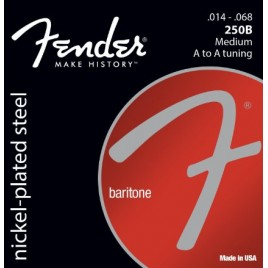 Fender 250B Nickel Plated Steel Baritone Guitar Strings