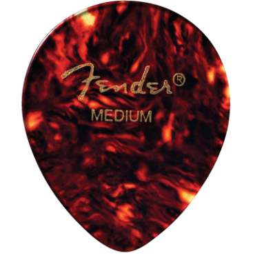 Fender 347 Shape Classic Celluloid Picks