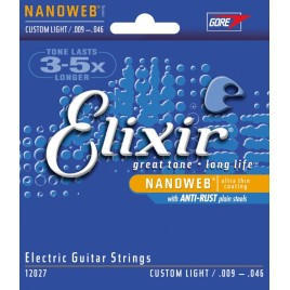 Elixir Electric Guitar NanoWeb 12027