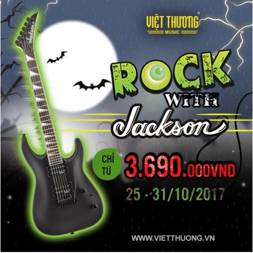 Cùng Jackson Guitar Rock cuồng nhiệt trong đêm Halloween