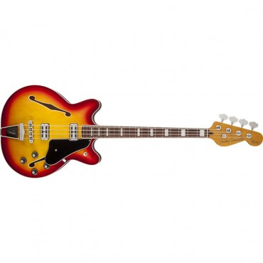 Fender Coronado Bass, Rosewood Fingerboard, Aged Cherry Burst