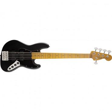 Fender Modern Player Jazz Bass® V Satin, Maple Fingerboard, Black