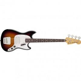 Fender Pawn Shop Mustang® Bass, Rosewood Fingerboard, 3-Color Sunburst