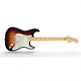 Fender American Deluxe Stratocaster® HSS, Maple Fingerboard, 3-Color Sunburst