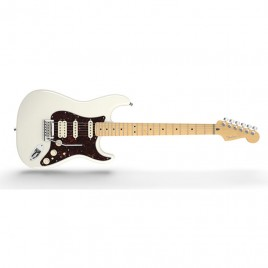 Fender American Deluxe Stratocaster® HSS, Maple Fingerboard, Olympic Pearl