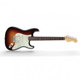 Fender American Deluxe Stratocaster® HSS, Rosewood Fingerboard, 3-Color