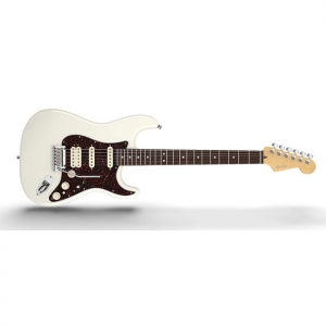 Fender American Deluxe Stratocaster® HSS, Rosewood Fingerboard, Olympic Pearl