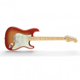 Fender American Deluxe Stratocaster®, Maple Fingerboard, Sunset Metallic