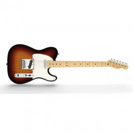 Fender American Standard Telecaster®, Maple Fingerboard, 3-Color Sunburst