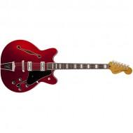 Fender Coronado Guitar, Rosewood Fingerboard, Candy Apple Red