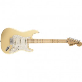Fender Deluxe Roadhouse™ Stratocaster®, Maple Fingerboard, Vintage White