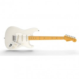Fender Eric Johnson Stratocaster®, Maple Fingerboard, White Blonde