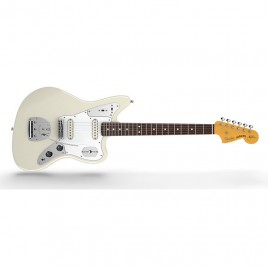 Fender Johnny Marr Jaguar®, Rosewood Fingerboard, Olympic White