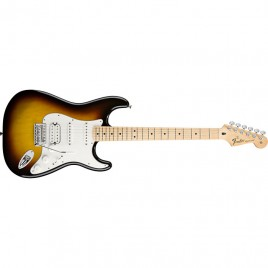 Fender Standard Stratocaster® HSS, Maple Fingerboard, Brown Sunburst, No Bag