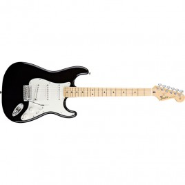 Fender Standard Stratocaster®, Maple Fingerboard, Black, No Bag
