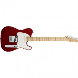 Fender Standard Telecaster®, Maple Fingerboard, Candy Apple Red, No Bag