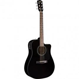 Fender CD-60CE Black W/Case