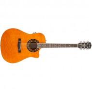 Fender T-Bucket™ 300CE, Amber, Quilt Maple