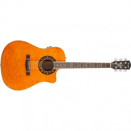 Fender T-Bucket™ 300CE, Amber, Quilt Maple