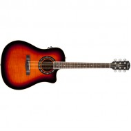 Fender T-Bucket™ 300CE Flame Maple, 3-Color Sunburst