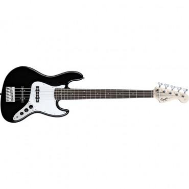 Squier® Affinity Jazz Bass® V (5 String), Rosewood Fingerboard, Black