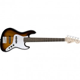 Squier® Affinity Jazz Bass® V (5 String), Rosewood Fingerboard, Brown Sunburst