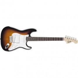 Squier® Affinity Series™ Stratocaster®, Rosewood Fingerboard, Brown Sunburst