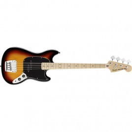 Squier® Vintage Modified Mustang® Bass, Maple Fingerboard, 3-Tone Sunburst