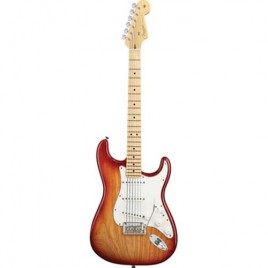 Fender American Deluxe Stratocaster® HSS, Maple Fingerboard, Sunset Metallic