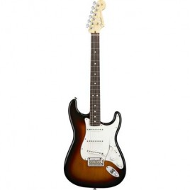 Fender American Standard Stratocaster®, Maple Fingerboard, 3-Color Sunburst