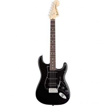 Fender American Special Stratocaster® HSS, Rosewood Fingerboard, Black