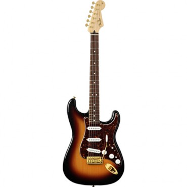 Fender Deluxe Players Strat®, Rosewood Fingerboard, 3-Color Sunburst