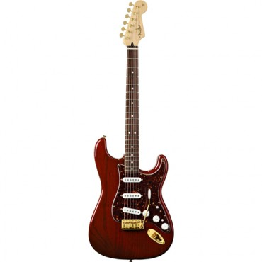 Fender Deluxe Players Strat®, Rosewood Fingerboard, Crimson Red Transparent
