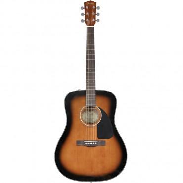 Fender CD-60 Sunburst, W/Case